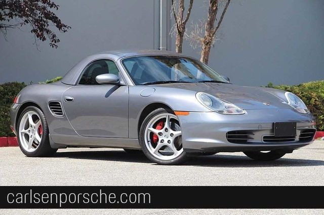 Pre Owned 2004 Porsche Boxster S Convertible In Redwood City 6305a