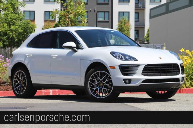 New 2018 Porsche Macan S (Executive Demo)